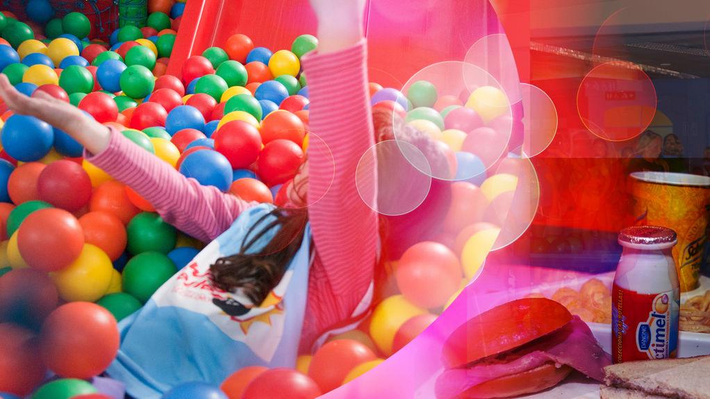 Menú Infantil + 1h de Parque Infantil o bolos